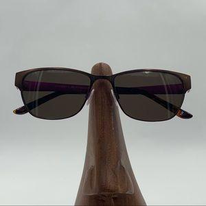 Project Runway Bronze Oval Sunglasses Frames